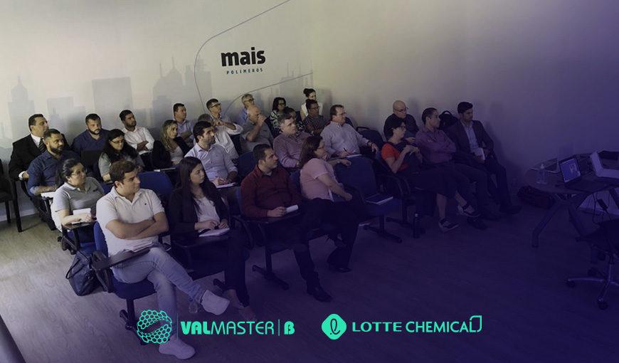 Dia de conhecer melhor nossos parceiros Valmaster|B e Lotte Chemical
